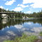 One of many alpine lakes