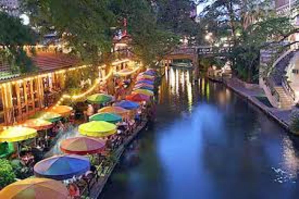 the world-famous and beautiful San Antonio Riverwalk