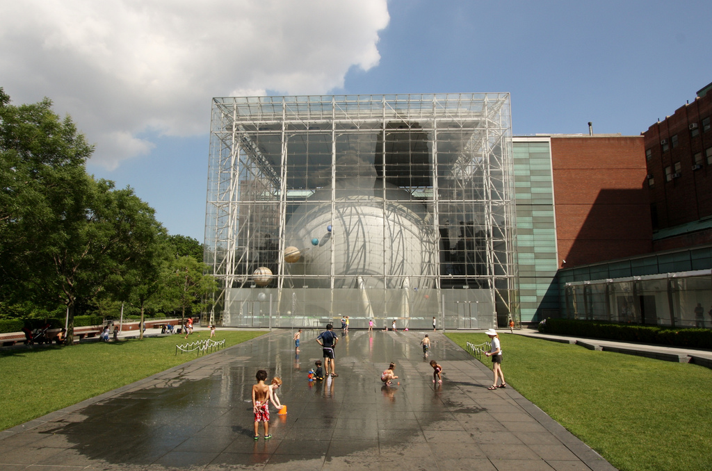 The Planetarium Water playground