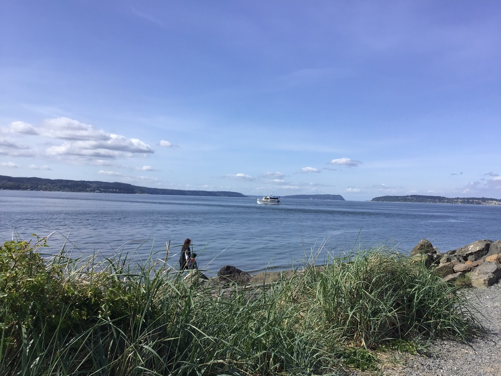 Puget Sound, Whidbey Island in the background
