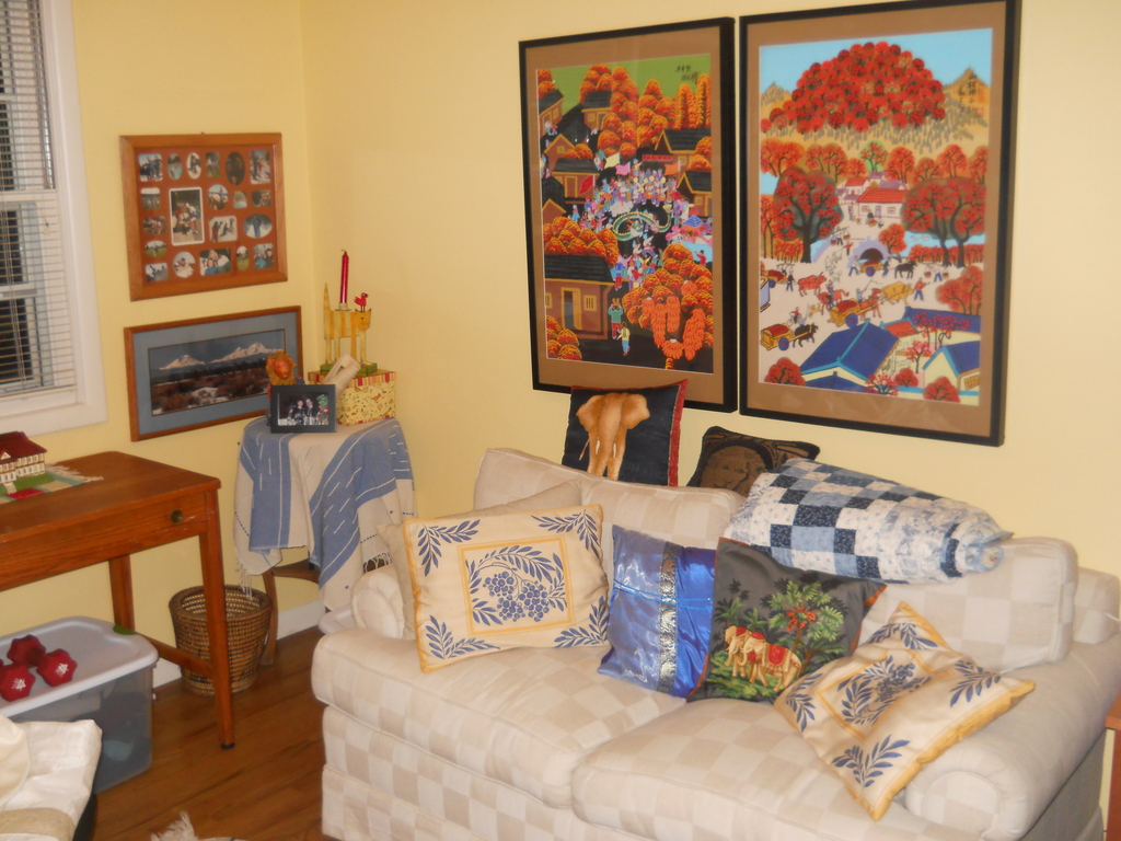 An extra guest bedroom