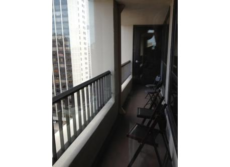 Balcony between Living room and Master
