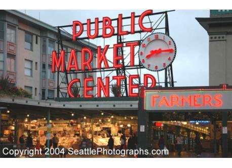 Famous Pike Place Market