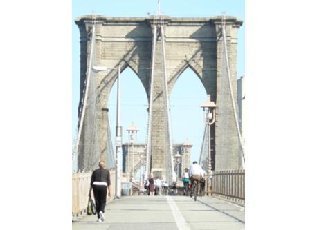 The Brooklyn Bridge, still beautiful