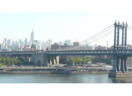 The Williamsburgh Bridge from Brooklyn to Manhattan