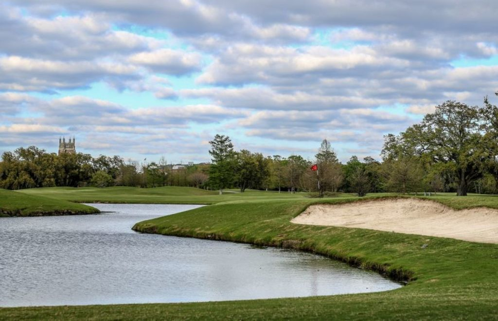 The Audubon Golf Course (five blocks from our house)