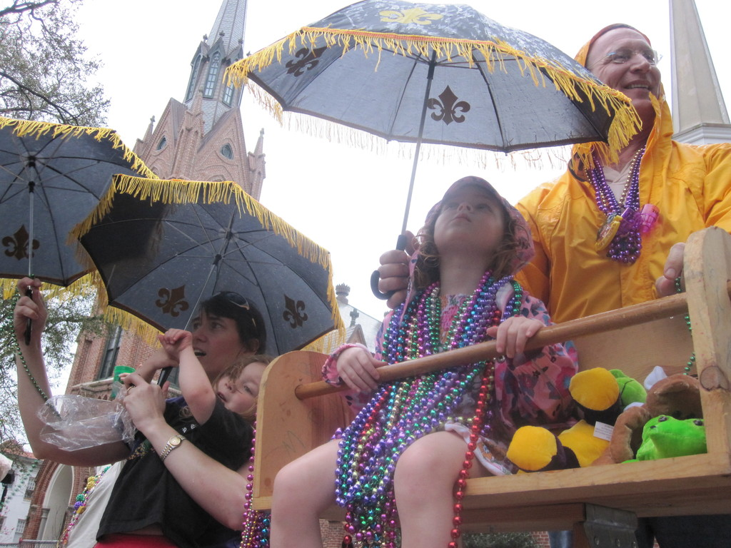 Family-Friendly Mardi Gras in Uptown New Orleans