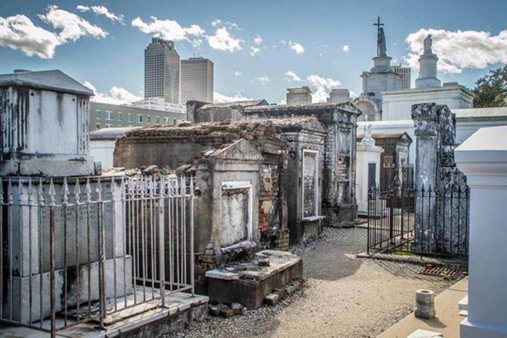 A New Orleans cemetery...
