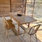 There are three distinct areas for outdoor dining and entertaining. This is the Pumphouse screen porch..