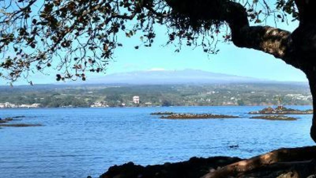 Hilo. We live in Hilo but often relax in Waikoloa.