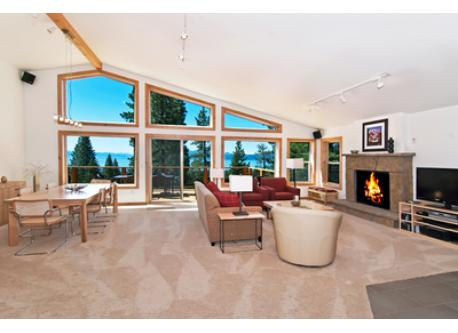 The Great Room and deck feature generous, flexible spaces and new furnishings.