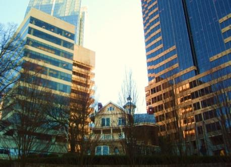 Downtown Atlanta - Blend of Old & New