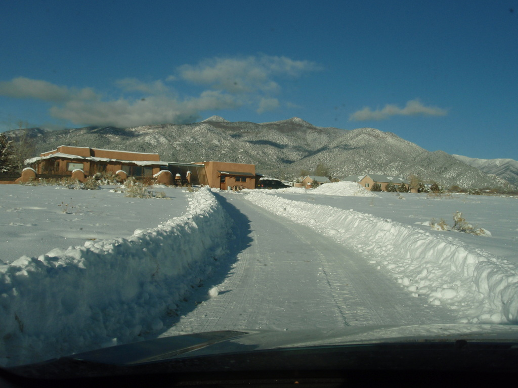 This is our OTHER exchange home in Taos, NM - More photos below