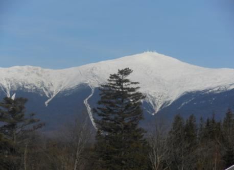 Mt. Washington- highest peak in the northeast