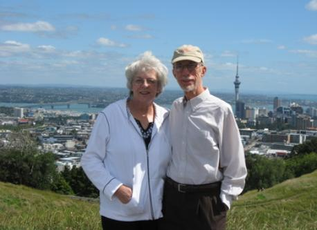 Our honeymoon, Auckland, New Zealand, 2009