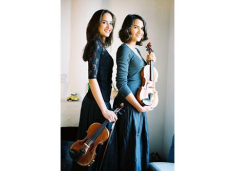 OUR VIOLINIST DAUGHTERS VALENTINA AND NOEMI
