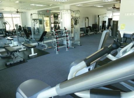 Community fitness room