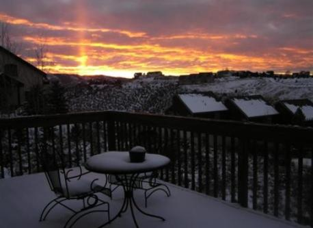 even in winter the sunsets are fabulous