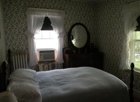 "Guest bedroom in ""old house"" area"