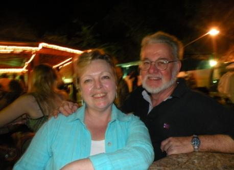 Carol McKeen & John Dunton on vacation