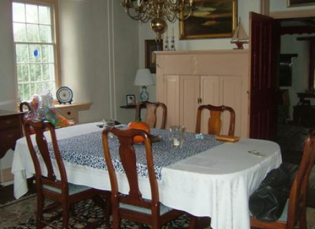 Main house dining room