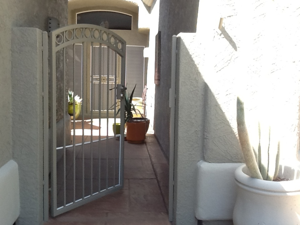 Entry Gate to house