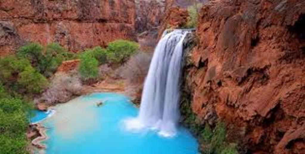 Havasu Falls on Havasupai Reservation