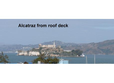 Alcatraz from our roof deck