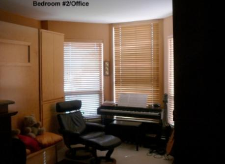 Office and second bedroom with a comfortable pull down Queen Bed.