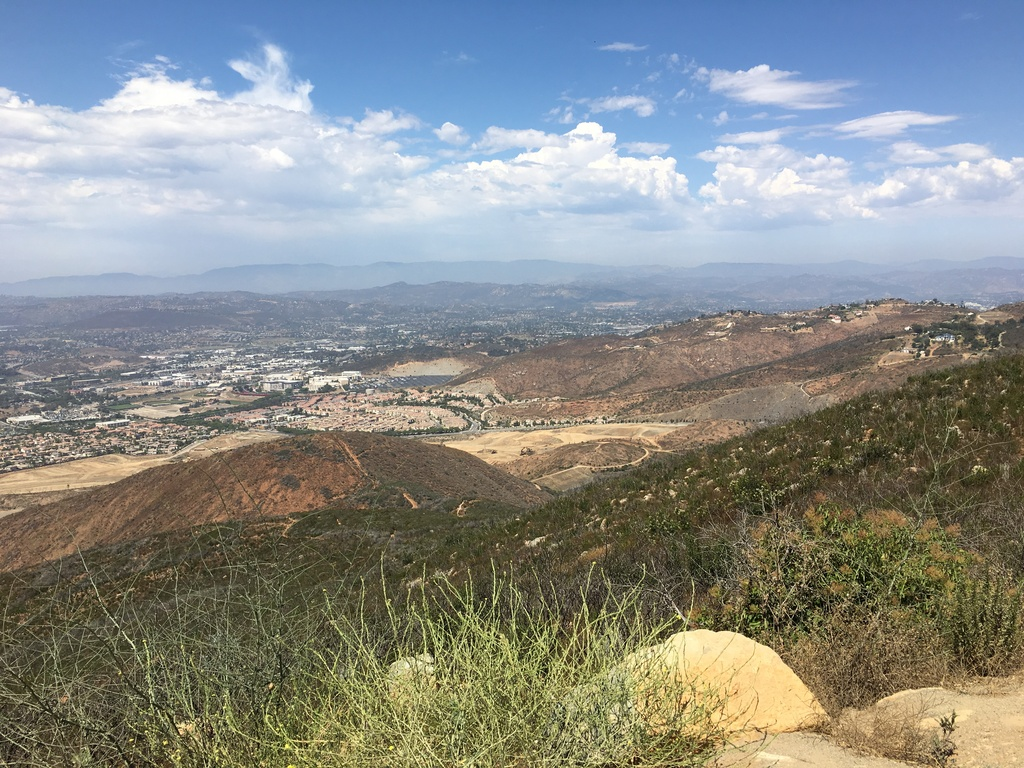 View from Double Peak which is 5 miles from my home