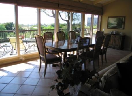 Dining Area with Santa Catalina Island view