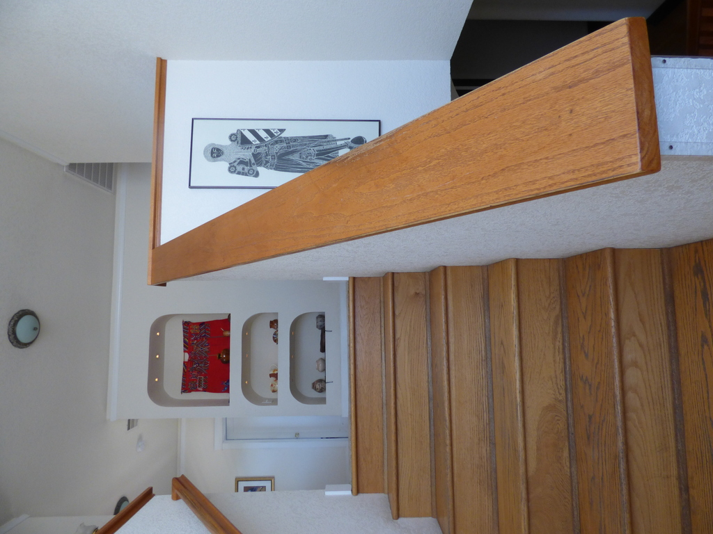 Stairs. View 2