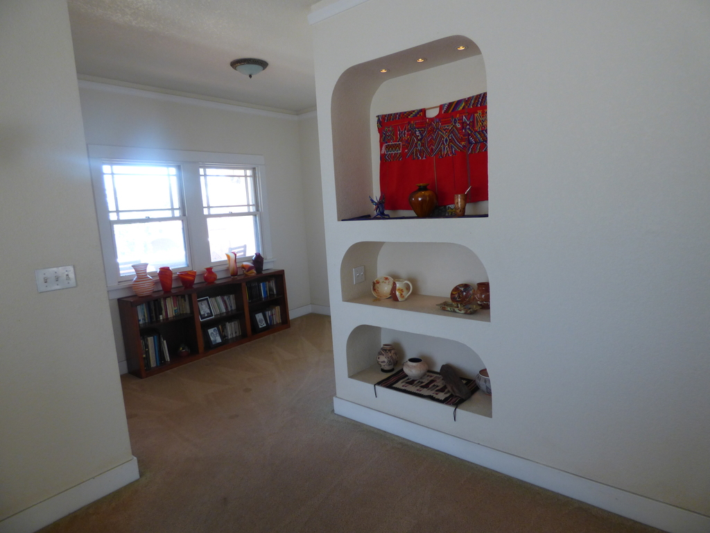 Upstairs. Hallway