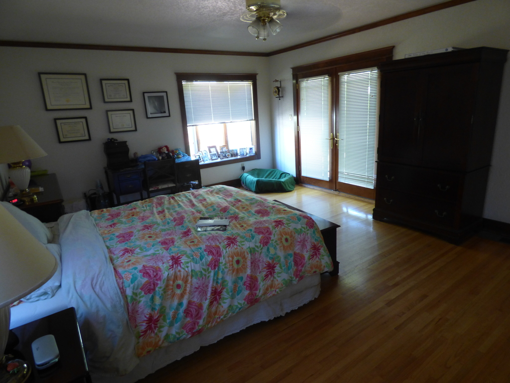 Downstairs. Master bedroom with private bathroom View 2