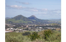 View of San Luis Obispo from Madonna peak