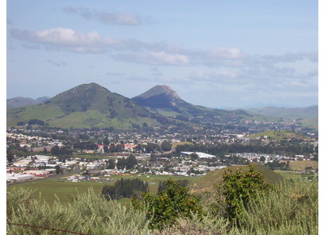 View of San Luis Obispo from Madonna peak