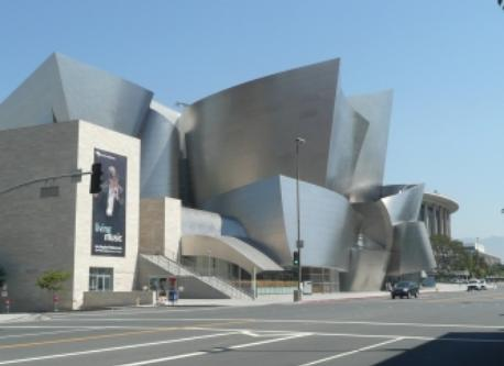 Disney Concert Hall in Los Angeles (6+ hours drive)