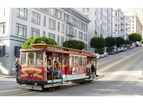 The San Francisco Cable Cars are historic and fun to ride