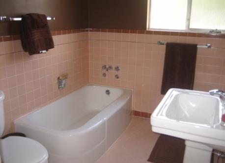 bathroom, Berkeley flat
