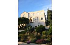 Our 1927 house in Jack London neighborhood of Piedmont, California, facing San Francisco Bay