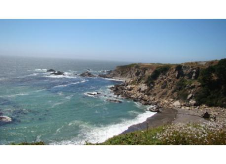 The wild and scenic Northern California coast near our Sea Ranch home