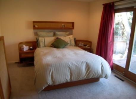 Master Bedroom, door to deck on right.