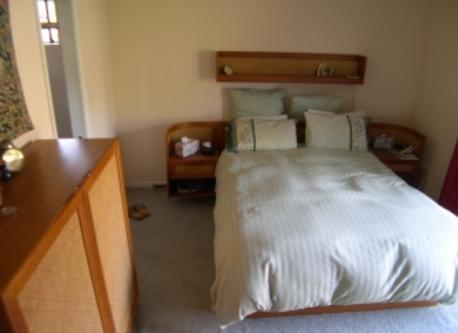 Master Bedroom, bathroom on left.