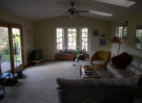 Family room (TV on left)