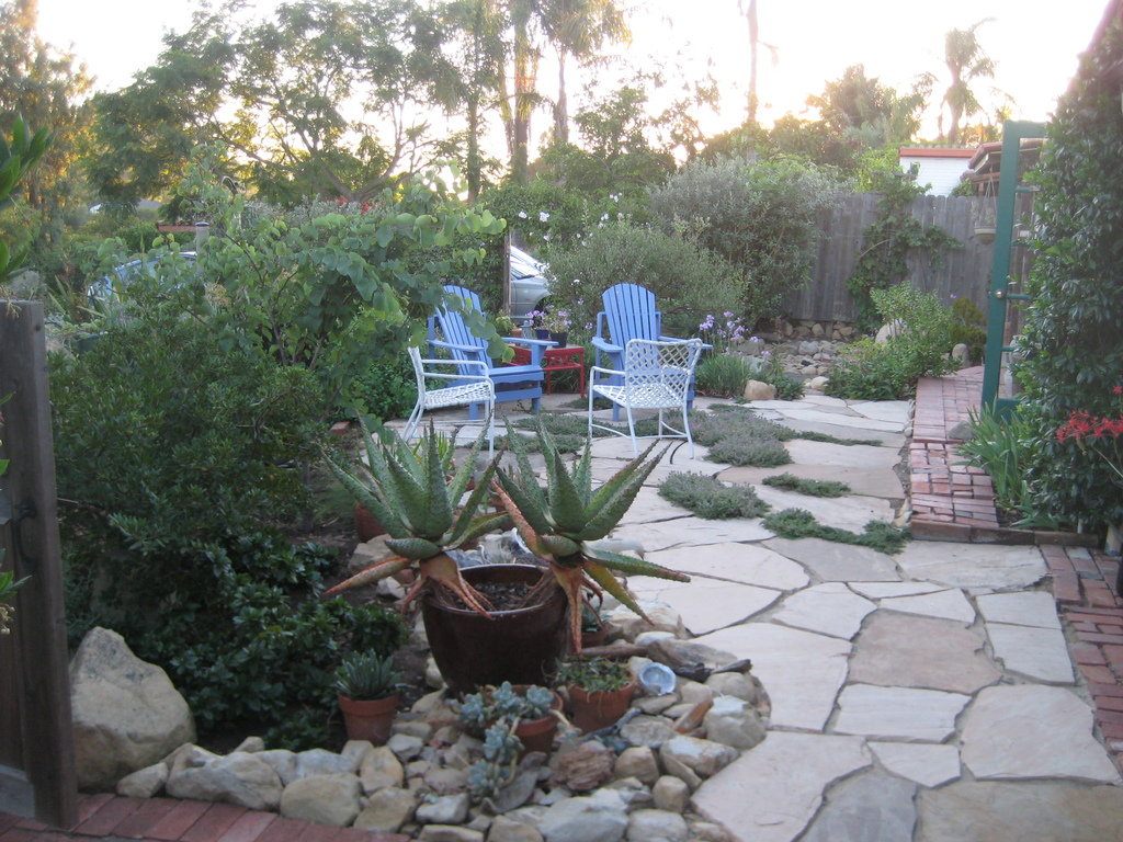 West side patio