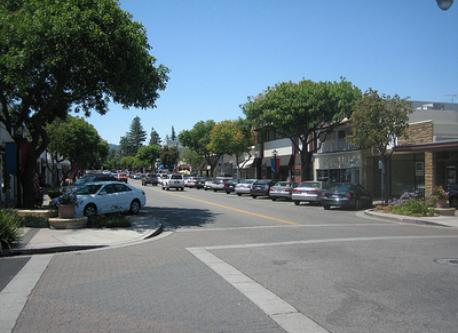 Downtown Los Altos