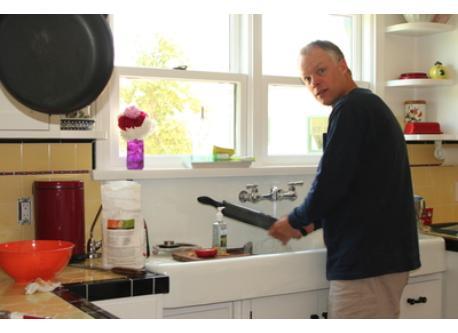 working kitchen!