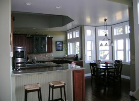 Kitchen with high end applicances