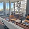 Living Room with new Eames Sofa PHOTOS SHOW SUNSCREENS IN WINDOWS