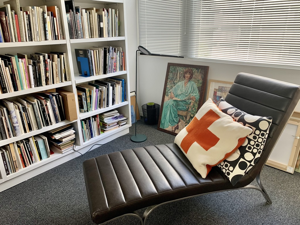 Office and art library